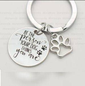 Accessories - NEW Dog Themed Keychain!!